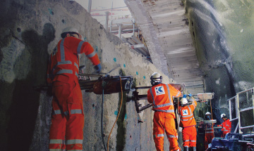 Concrete cutting and controlled demolition