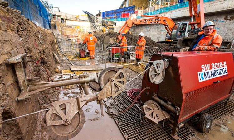 Crossrail C511 Whitechapel access shafts 3