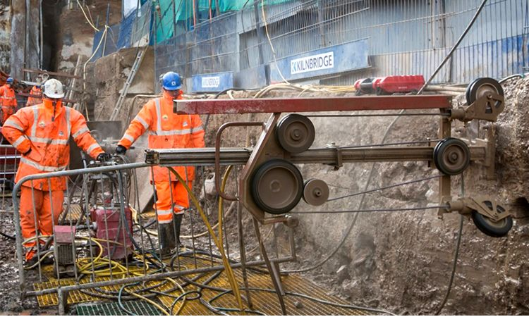 Crossrail C511 Whitechapel access shafts 2
