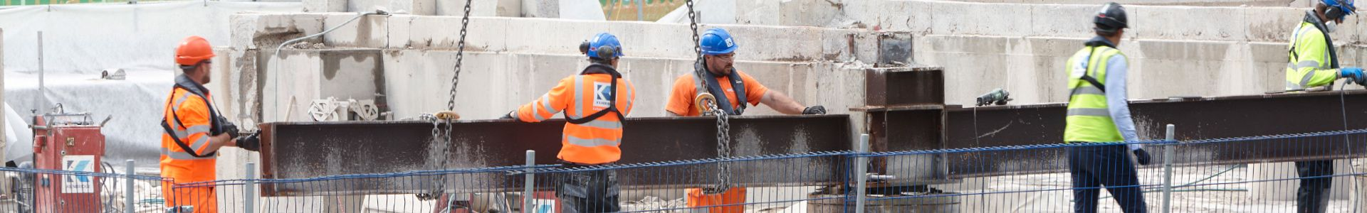 Vacancies at Kilnbridge in Construction, Demolition, Concrete Cutting, Fire Protection and Environmental